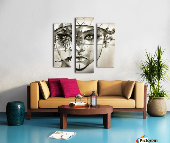 Castles Canvas print