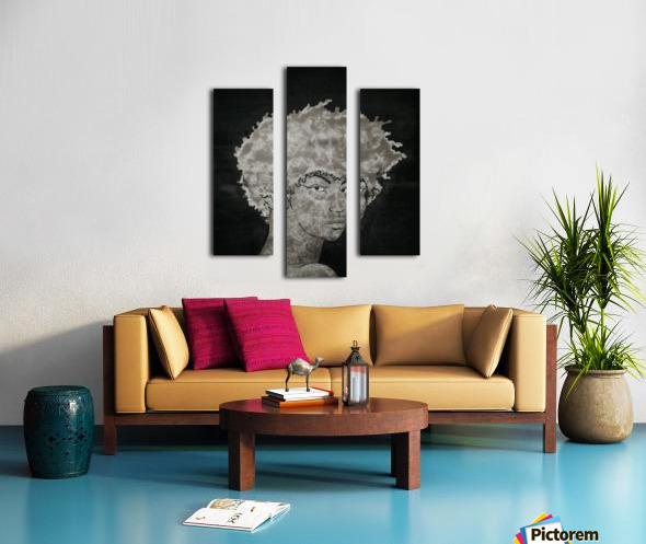 Steel Heart Canvas print