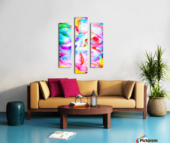 VIVID Abstraction I Canvas print