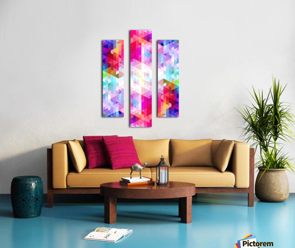 VIVID PATTERN VIII Canvas print