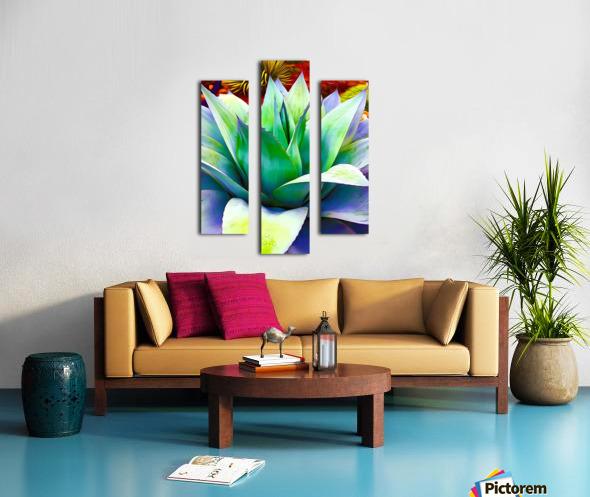 Succulent Dewdrop Canvas print