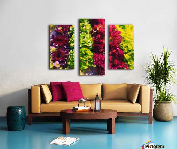 Lettuces Canvas print
