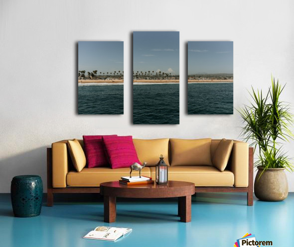 Newport Beach California Impression sur toile