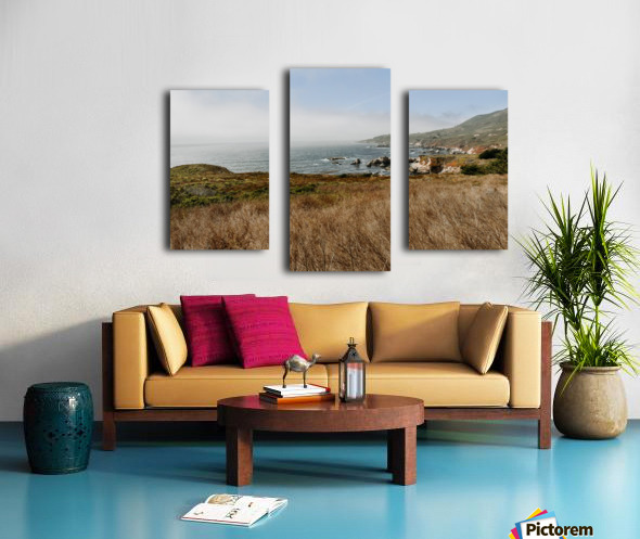 California Coast Impression sur toile