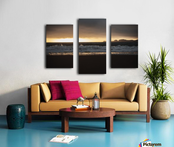 San Francisco Sunset Canvas print