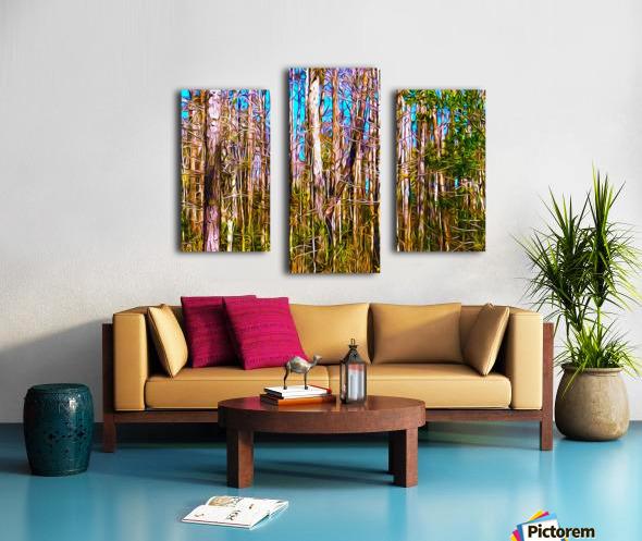 Florida Trees Canvas print