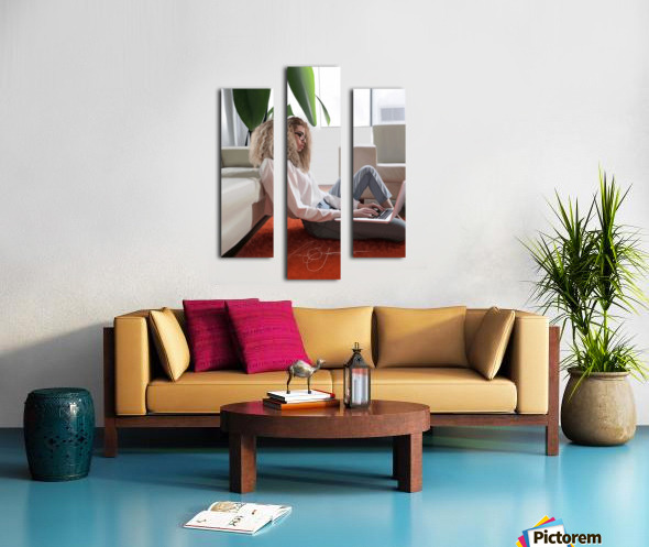 college dorm Canvas print
