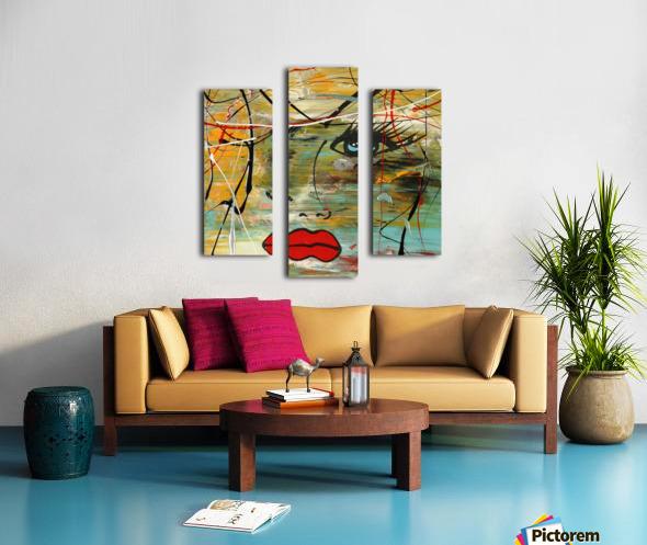 2828   colors Canvas print