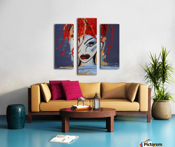3462   martyne Canvas print