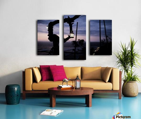 Lanterne de Lima Impression sur toile
