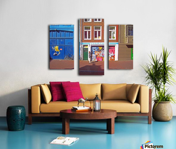 Graffiti Walls Canvas print