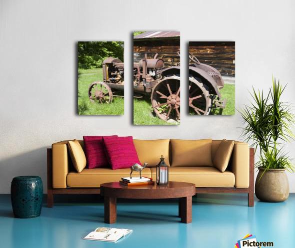 McCormick-Deering gasoline tractor 2 Canvas print