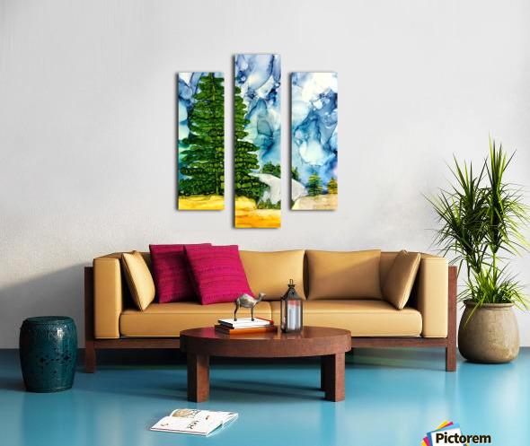 Sandia Stroll Canvas print