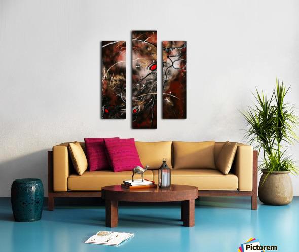 1132   douceur Canvas print