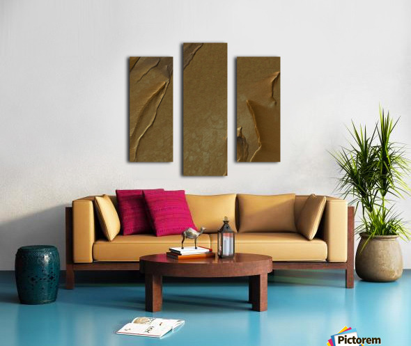 Sand mirage Canvas print