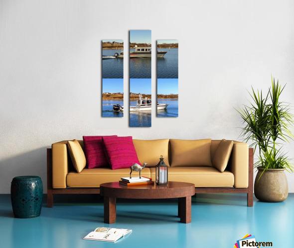 Cuttyhunk Vessels KMB 20x30 ACRYLIC 4 PRINT Canvas print