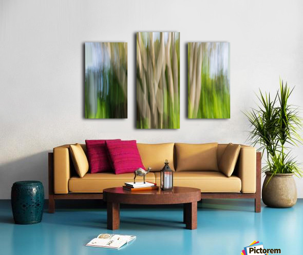 Moving Trees 30 Landcape 52 70 200px Canvas print