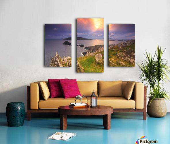 KY 602 Blasket Island Sunset Canvas print
