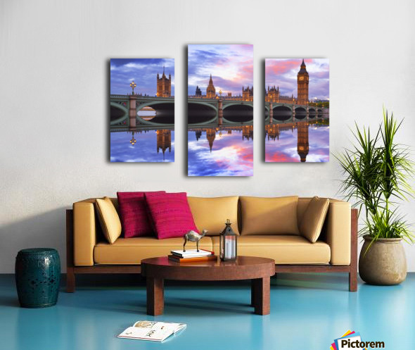 LON 005 Big Ben  Canvas print