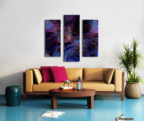 Vivid Magical Abstract Canvas print