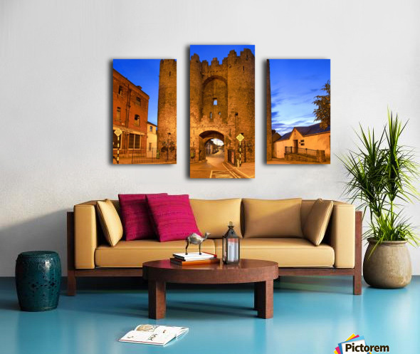 LH 034 St.Lawerence Gate Canvas print