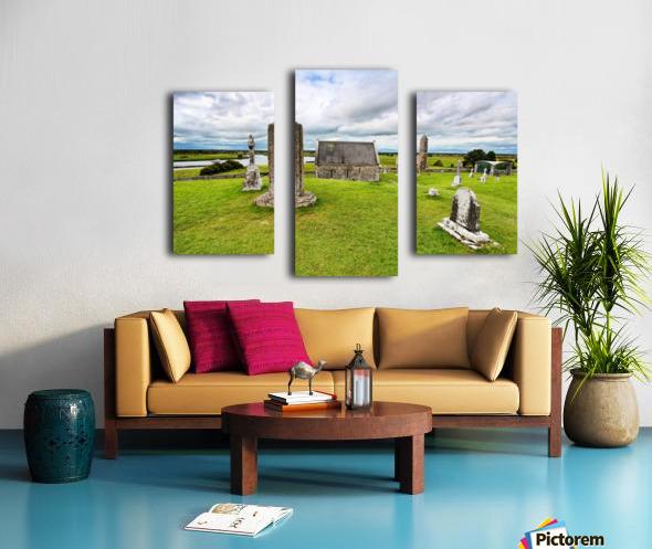 OY 002 Clonmacnoise Canvas print