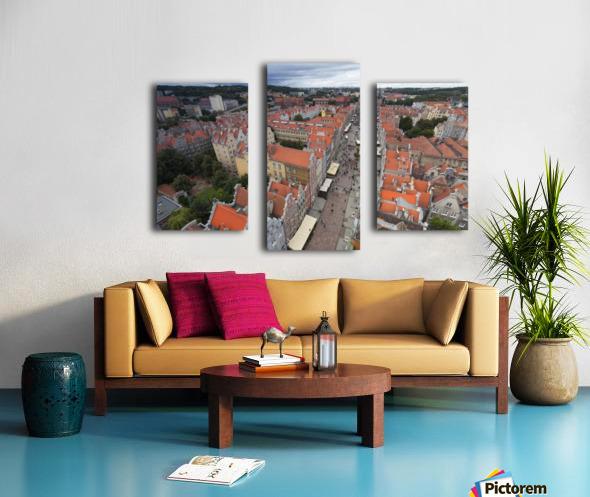 POL 012 Gdansk Canvas print