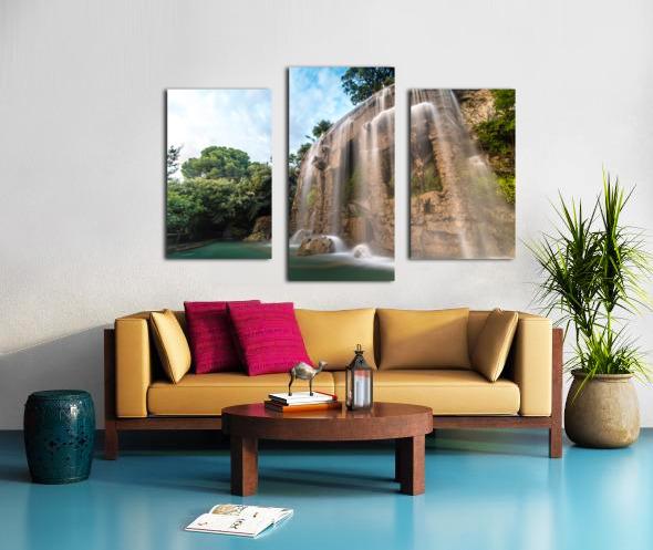 Fontaine de Nice Canvas print