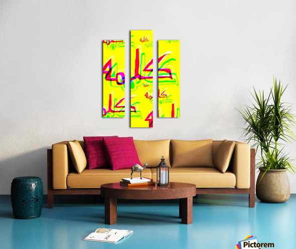 Add & Temoty Canvas print
