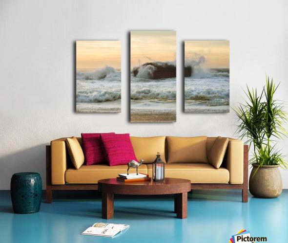 SEA BUNKERS  Canvas print