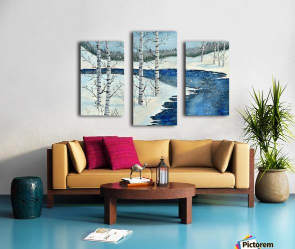 Winter Blues Canvas print