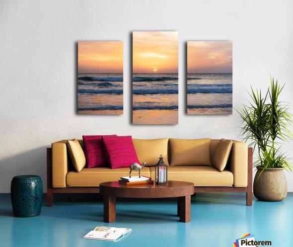 SUNSET AT EL PALMER Canvas print