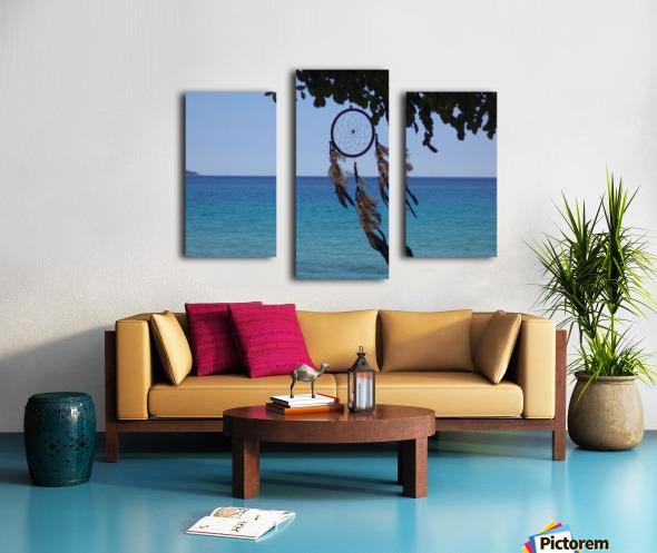 Dreams by the sea Canvas print