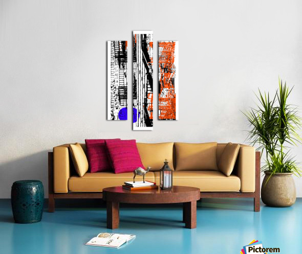 New York SoHo  Canvas print