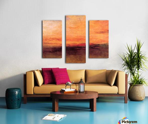 Sunset by Joseph Mallord Turner Canvas print