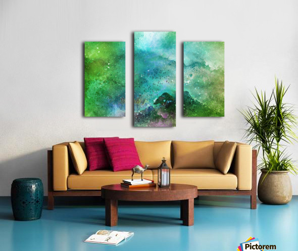From the top Canvas print