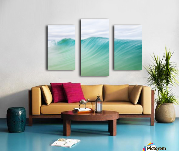CANARY WAVES 2. Canvas print