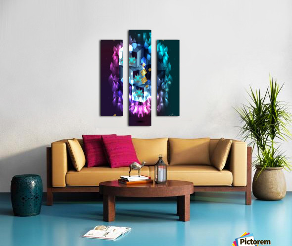 Touch of  fellings  Canvas print