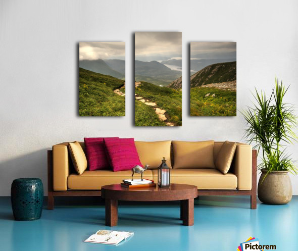Grosmorne Mountain Canvas print