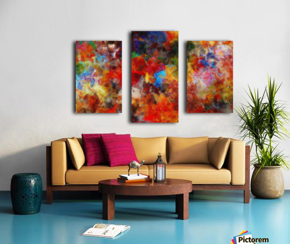 Vivid Life Canvas print
