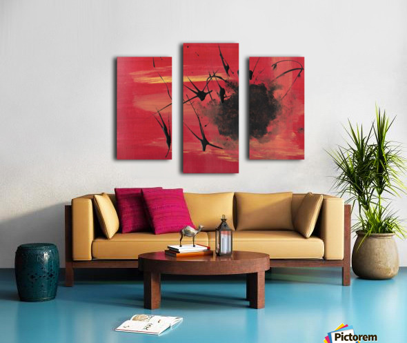 This is my Hell Canvas print