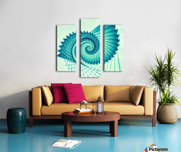 Composition de Nautile Canvas print