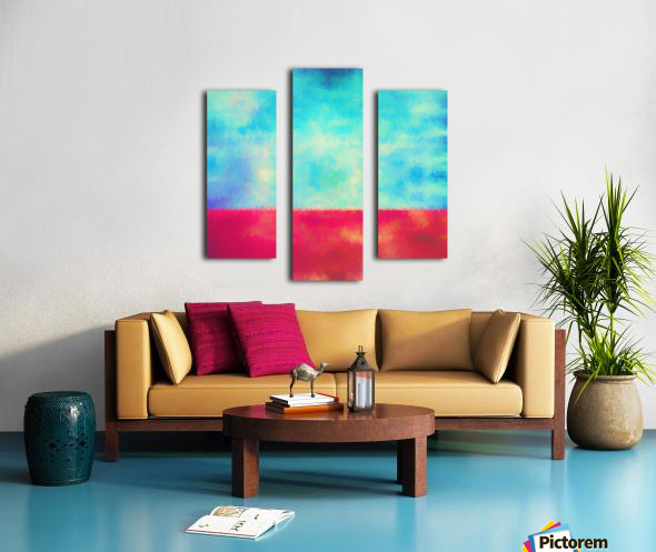 Red Horizon Canvas print