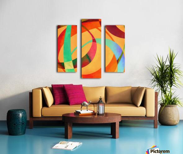 Swoop Canvas print