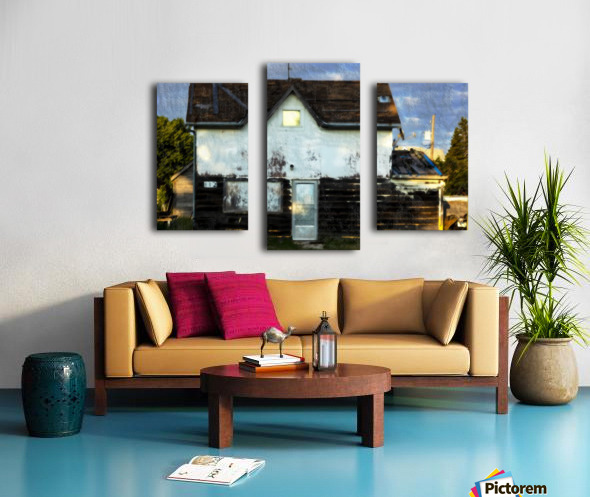 Austin house Canvas print