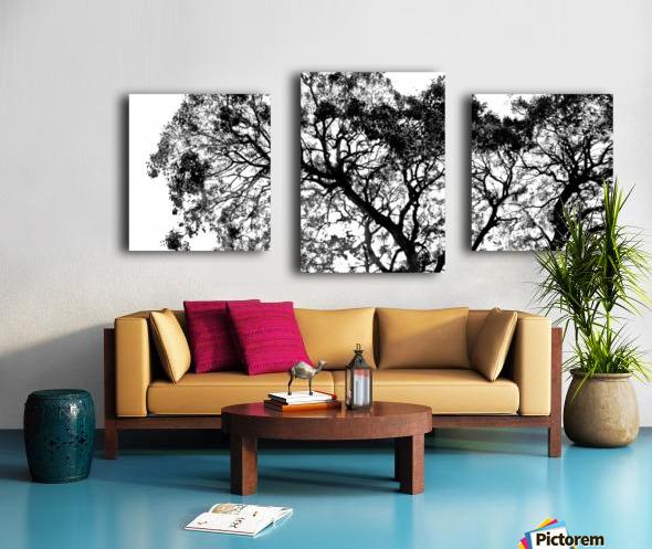 Tree Top Canvas print
