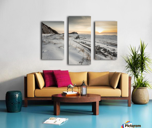 Crisp Nights Canvas print