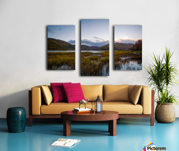 Ingonish valley  Canvas print