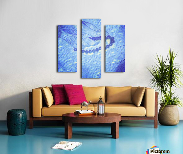 Resting Moments  Canvas print