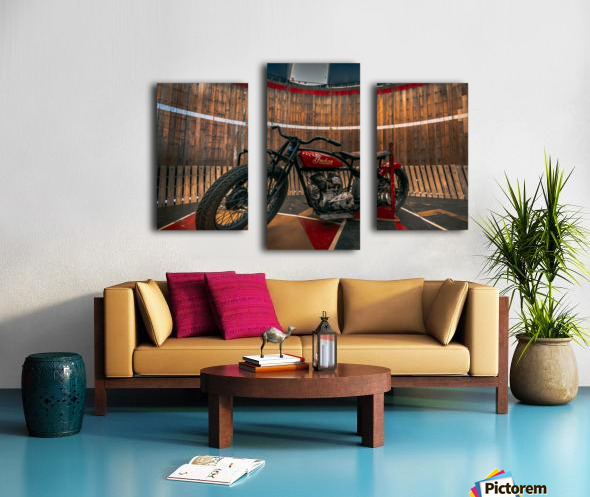 1927_Indian_Scout_Motorcycle Canvas print